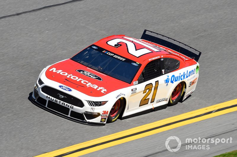 16. Matt DiBenedetto, Wood Brothers Racing, Ford Mustang Motorcraft/Quick Lane