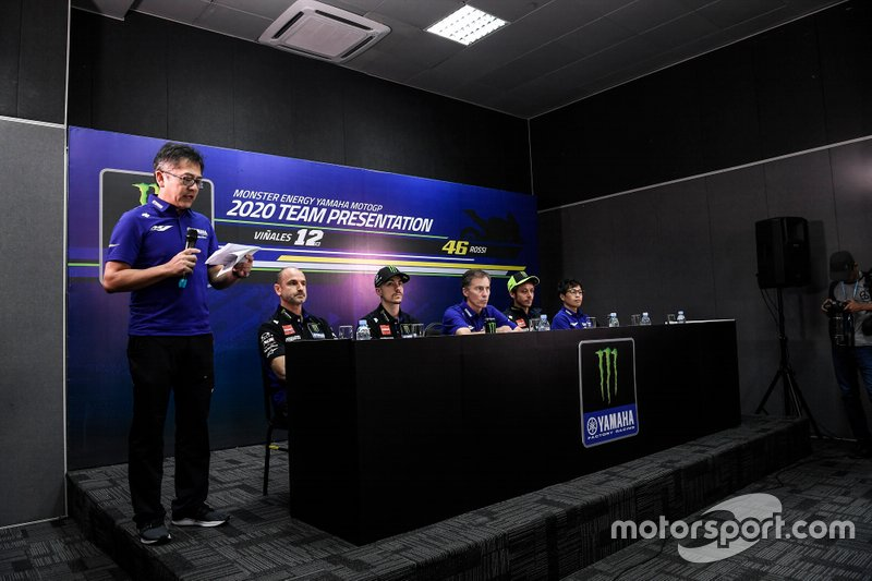 Presentazione Yamaha Factory Racing