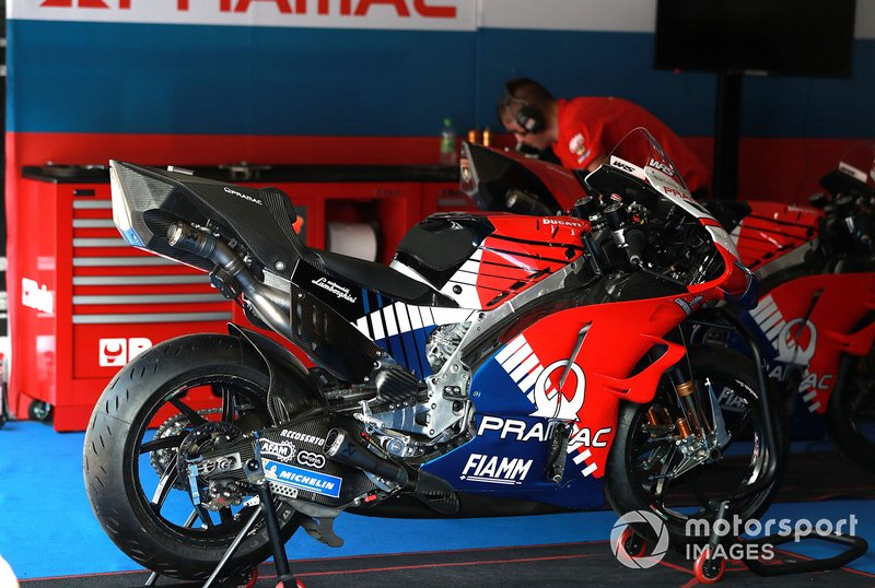 Moto del Team Pramac Racing