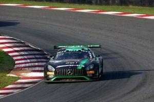 #43 Strakka Racing Mercedes-AMG GT3: Dominik Baumann, Christina Nielsen, Adrian Henry D'Sliva