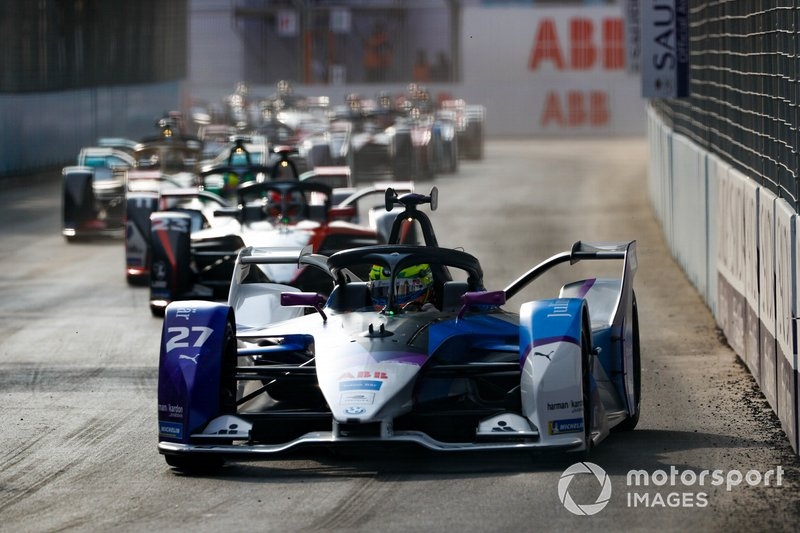 Alexander Sims, BMW I Andretti Motorsports, BMW iFE.20 Sébastien Buemi, Nissan e.Dams, Nissan IMO2, Lucas Di Grassi, Audi Sport ABT Schaeffler, Audi e-tron FE06
