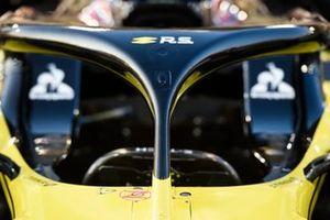Renault R.S.19, dettaglio dell'halo
