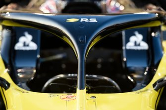 Detalle del halo Renault R.S.19