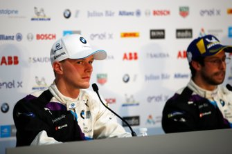 Maximilian Gunther, BMW I Andretti Motorsports, Alexander Sims, BMW I Andretti Motorsports, in the press conference