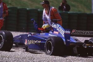 Nick Heidfeld, Prost AP03 Peugeot retires