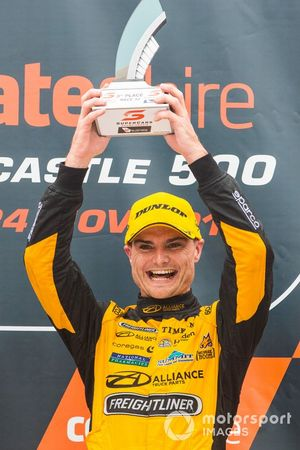 Podium: third place Tim Slade, Brad Jones Racing Holden