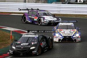 Tomoki Nojiri, ARTA Honda NSX-GT, Ryo Hirakawa, Lexus Team TOM'S Lexus LC500