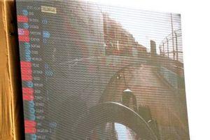 Sam Bird, Virgin Racing, Audi e-tron FE06, retires from the race on the big screen