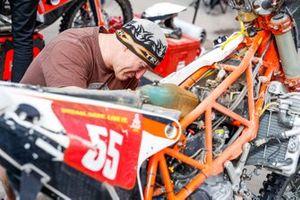 #55 KTM: Patrice Carillon