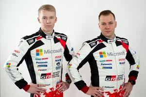 Kalle Rovanperä, Jonne Halttunen, Toyota Racing