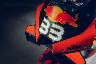 Bike of Brad Binder, Red Bull KTM Factory Racing