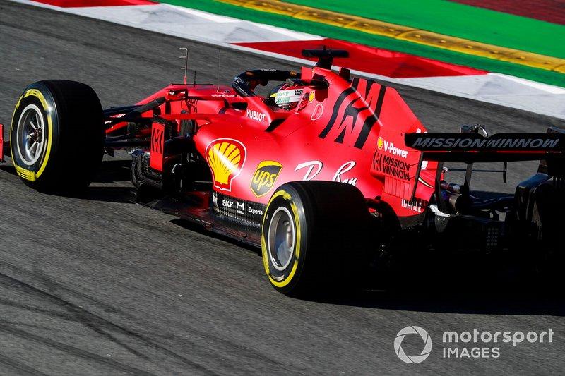 9º Sebastian Vettel, Ferrari SF1000: 1:16.841 (con neumáticos C5 en la semana 2)