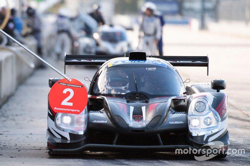 #2 Ansa Motorsports Ligier JS P3: Timothy George, Neil Alberico, Jon Brownson
