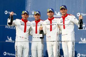 Podium : #91 Porsche GT Team Porsche 911 RSR - 19: Gianmaria Bruni, Richard Lietz, #92 Porsche GT Team Porsche 911 RSR - 19: Michael Christensen, Kevin Estre