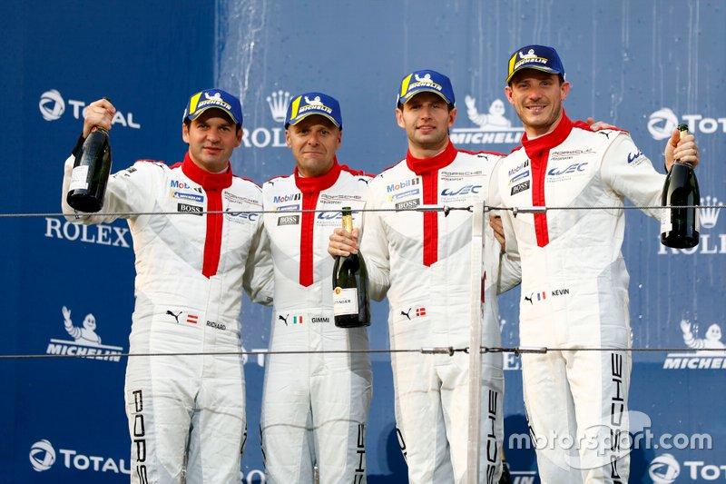 Podium: #91 Porsche GT Team Porsche 911 RSR - 19: Gianmaria Bruni, Richard Lietz, #92 Porsche GT Team Porsche 911 RSR - 19: Michael Christensen, Kevin Estre