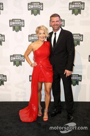 Clint Bowyer mit Ehefrau Lorra