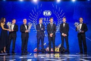 FIA Karting Champions: Lorenzo Travisanutto, Thomas Ten Brinke, Marijn Kremers