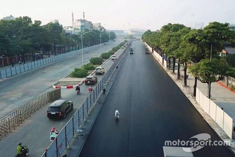 Hanoi F1 circuit work in progress