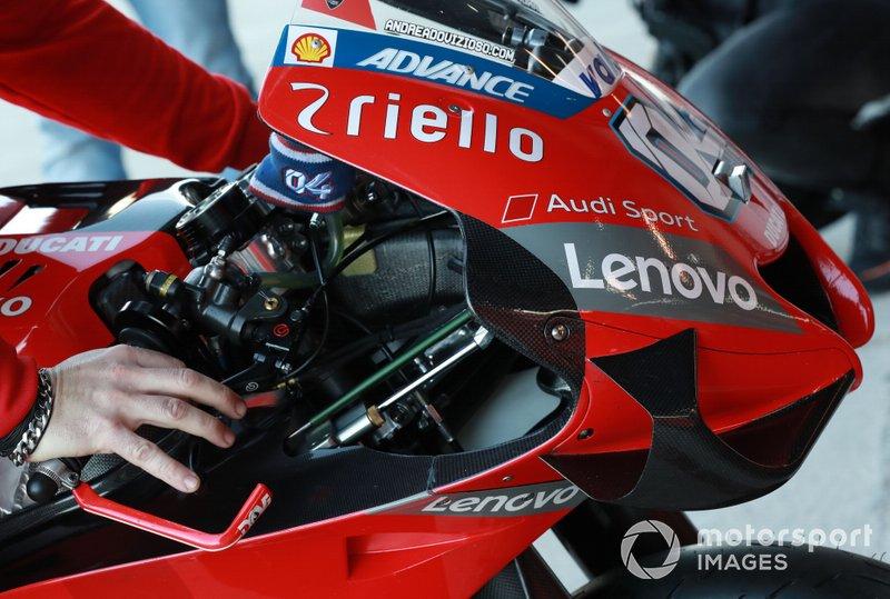 Moto di Andrea Dovizioso, Ducati Team