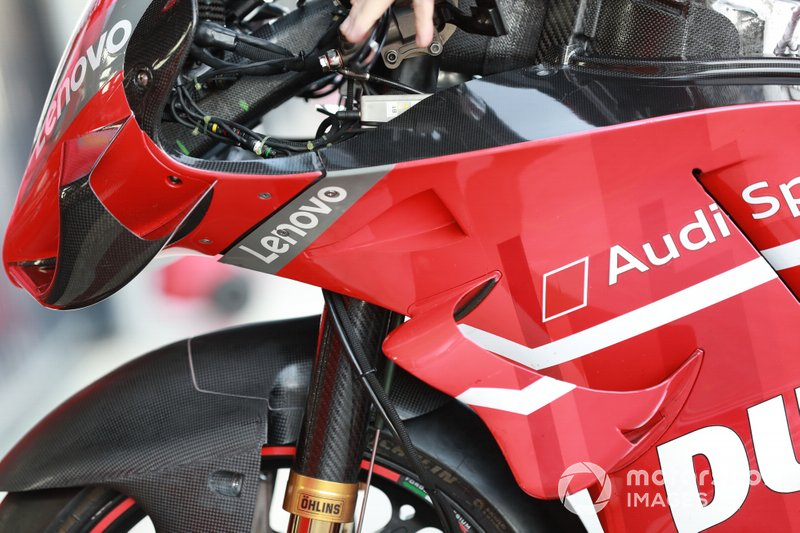 Bike of Ducati Team