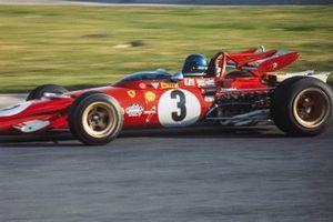 Jacky Ickx, Ferrari, al GP del Messico del 1970