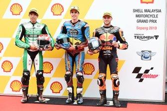 Tetsuta Nagashima, SAG Racing Team, Alex Marquez, Marc VDS Racing, Brad Binder, KTM Ajo