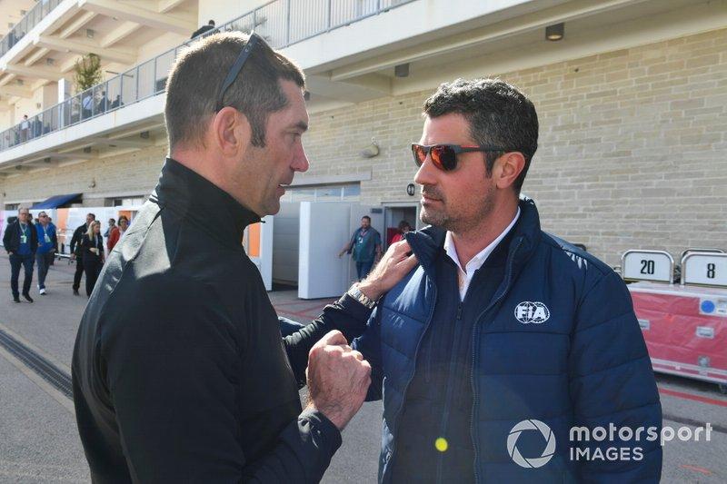 Max Papis e Michael Masi, Direttore di gara