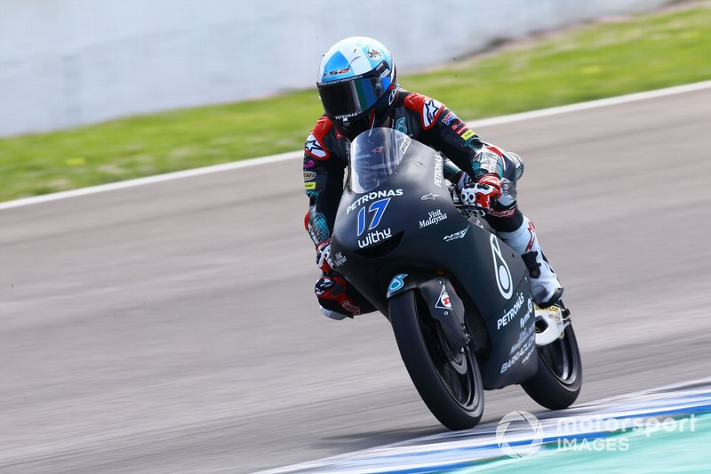 2º John McPhee, SIC Racing Team - 1:44.720