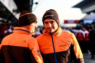 Carlos Sainz, McLaren ve Lando Norris, McLaren