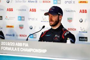 Sam Bird, Virgin Racing, en conférence de presse