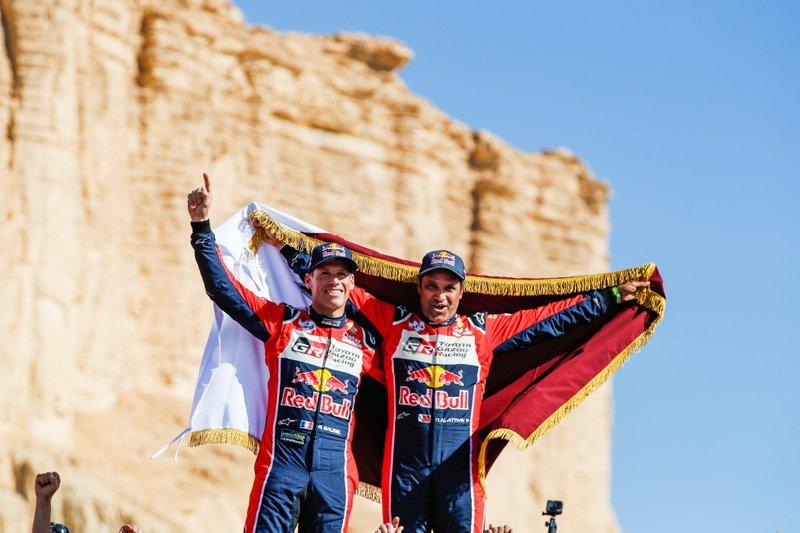 2º de la general: Nasser Al-Attiyah, Matthieu Baumel, 1 trofeo