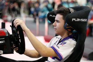 The winner of the Rallycross eSports final