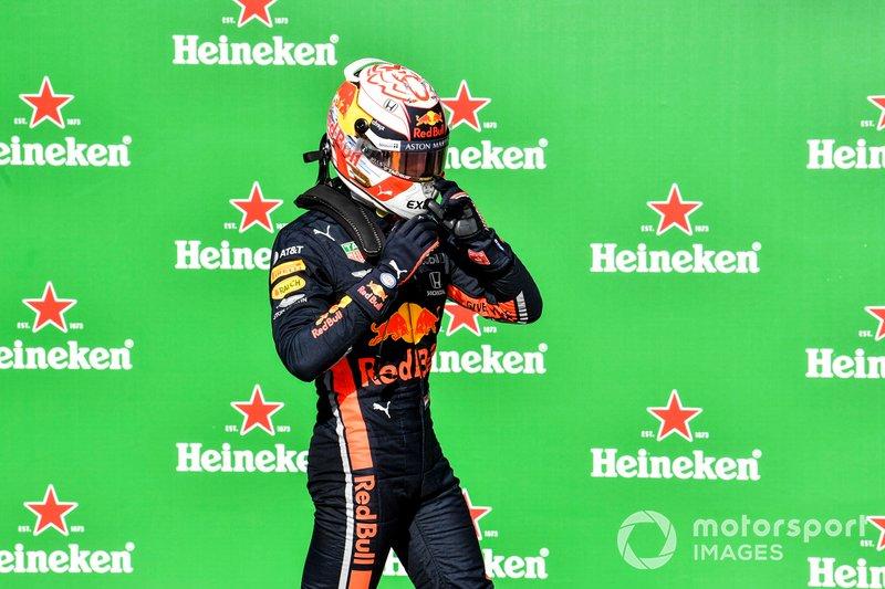 Max Verstappen logró la segunda pole position de su carrera, igualando a Gilles Villeneuve, Jean Alesi y Heinz-Harald Frentzen
