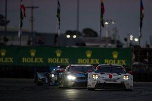 #912 Porsche GT Team Porsche 911 RSR: Earl Bamber, Laurens Vanthoor, Mathieu Jaminet, #24 BMW Team RLL BMW M8 GTE: Jesse Krohn, John Edwards, Augusto Farfus, Chaz Mostert
