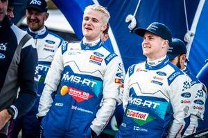 Гонщики M-Sport Ford WRT Гас Гринсмит и Эсапекка Лаппи