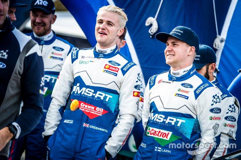 Gus Greensmith, M-Sport Ford WRT, Esapekka Lappi, M-Sport Ford WRT