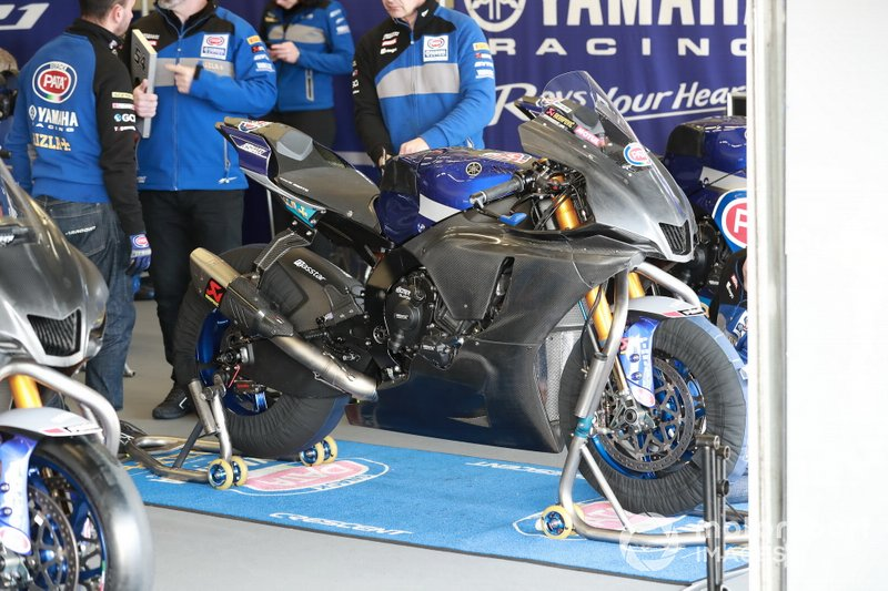 Motor van Michael Van Der Mark, Pata Yamaha WorldSBK Official Team