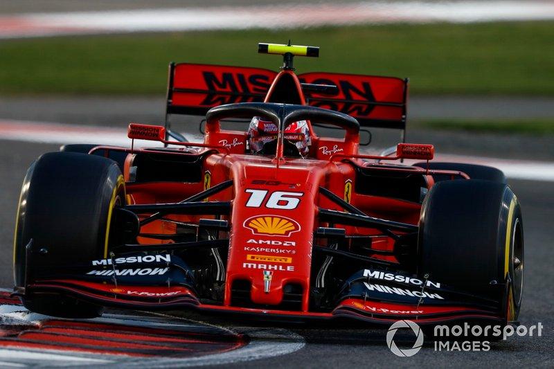 3º: Charles Leclerc, Ferrari SF90