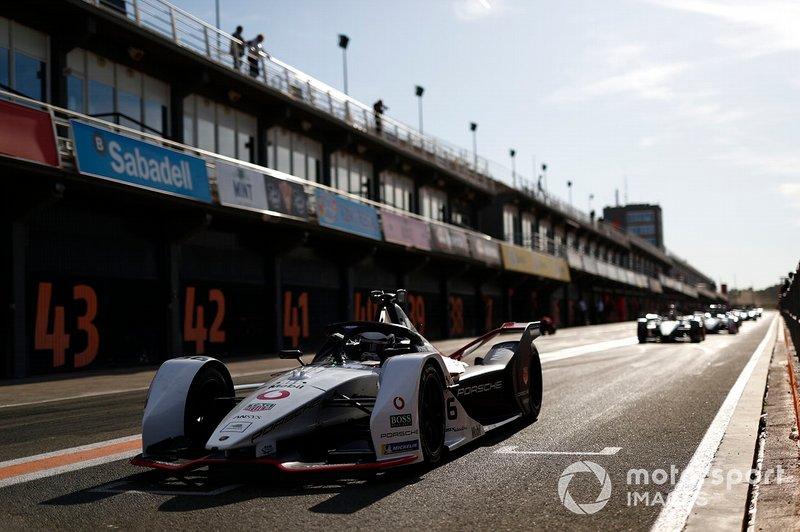 Andre Lotterer, Porsche, Porsche 99x Electric exits the pit lane