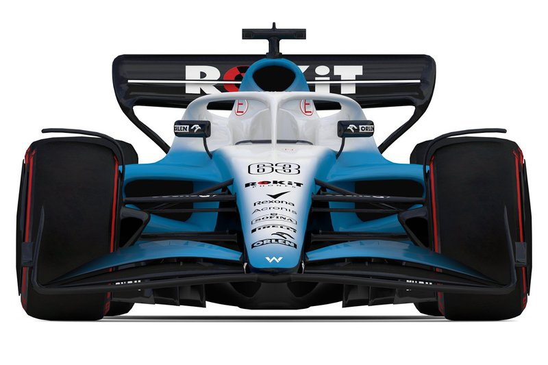 Le concept F1 2021 de Williams