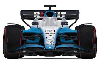 Coche de Williams F1 2021