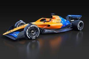 McLaren 2021 F1 car