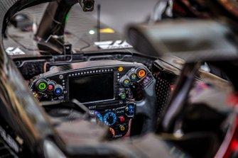 Haas F1 Team VF-19 cockpit detail