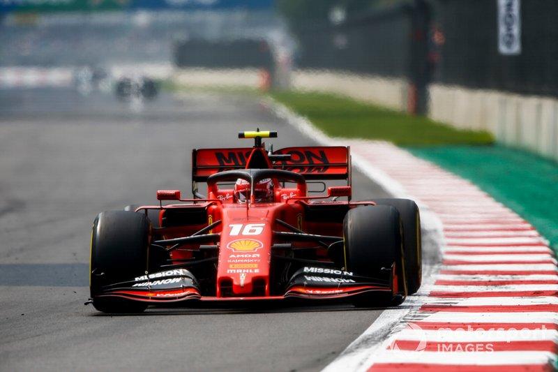 Charles Leclerc - 8 GP liderados