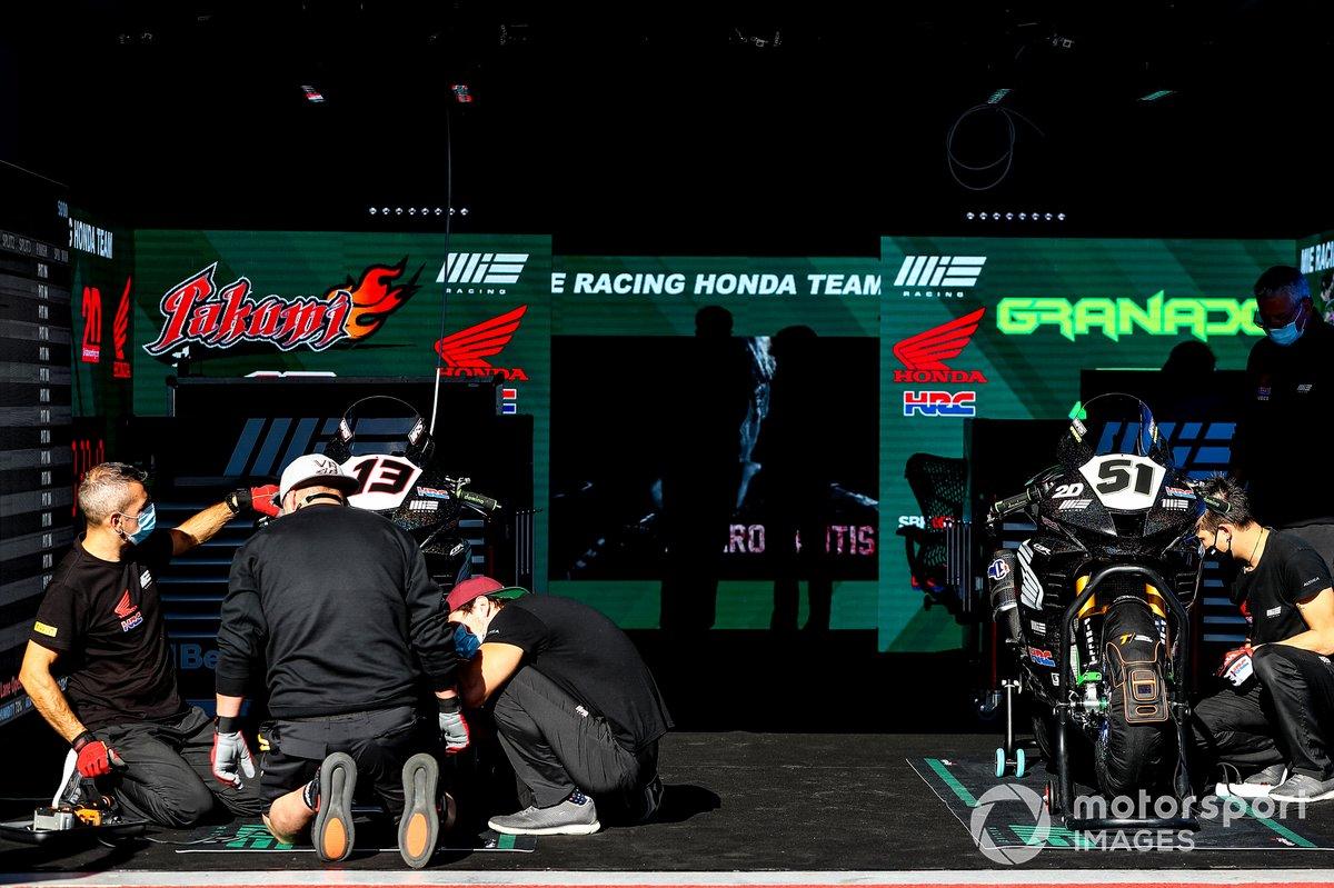 Moto de MIE Racing