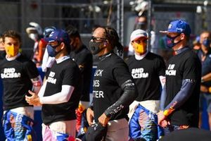 Sergio Perez, Racing Point, Lewis Hamilton, Mercedes-AMG F1, Max Verstappen, Red Bull Racing