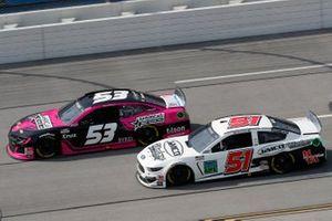 James Davison, Rick Ware Racing, Chevrolet Camaro, Joey Gase, Petty Ware Racing, Ford Mustang Nevada