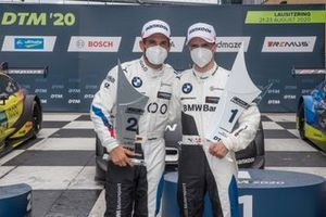 Podio: Timo Glock, BMW Team RMG, Lucas Auer, BMW Team RMG