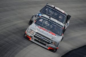 Grant Enfinger, ThorSport Racing, Ford F-150 Farm Paint/Curb Records, Tanner Gray, DGR-Crosley, Ford F-150 Ford Performance