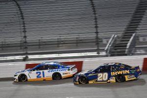 Matt DiBenedetto, Wood Brothers Racing, Ford Mustang Quick Lane Tire & Auto Center Erik Jones, Joe Gibbs Racing, Toyota Camry Irwin SPEEDBOR